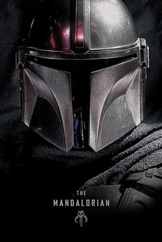 Juliste Star Wars: The Mandalorian - Dark