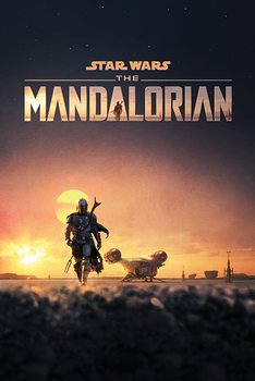 Juliste Star Wars: The Mandalorian - Dusk