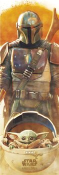Juliste Star Wars: The Mandalorian