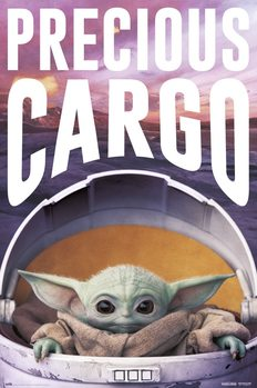 Juliste Star Wars: The Mandalorian - Precious Cargo