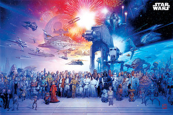 Juliste Star Wars - Universe
