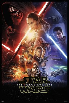 Juliste  Star Wars VII - One Sheet