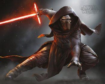 Juliste Star Wars VII: Síla se probouzí - Kylo Ren Crouch