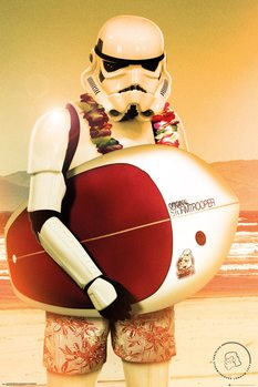 Juliste  Stormtrooper - Surf