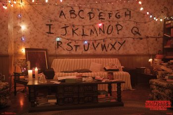 Juliste  Stranger Things - Alphabet