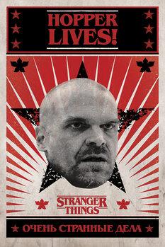 Juliste Stranger Things - Hopper Lives