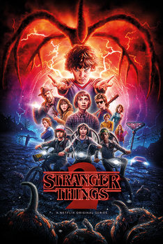 Juliste  Stranger Things - One Sheet Season 2