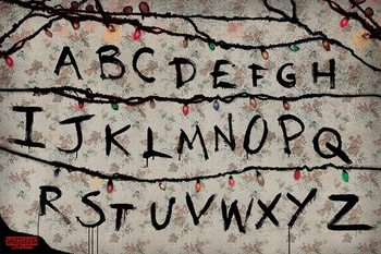 Juliste Stranger Things - R, U, N