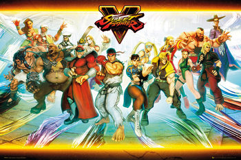 Juliste Street Fighter 5 - Characters