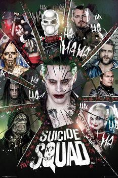 Juliste Suicide Squad - Circle