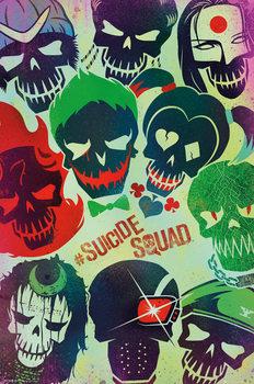 Juliste Suicide Squad - Deadshot Skull