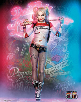 Juliste Suicide Squad - Harley Quinn Stand