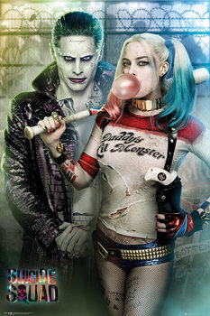 Juliste  Suicide Squad - Joker and Harley Quinn