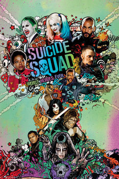 Juliste Suicide Squad - One Sheet