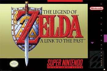 Juliste Super Nintendo - Zelda