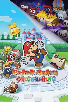Juliste Super (Paper) Mario - The Origami King