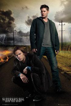 Juliste  Supernatural - Dean and Sam