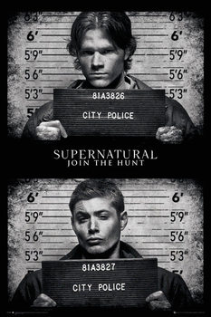 Juliste Supernatural - Mug Shots