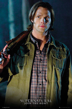 Juliste  Supernatural - Sam Solo