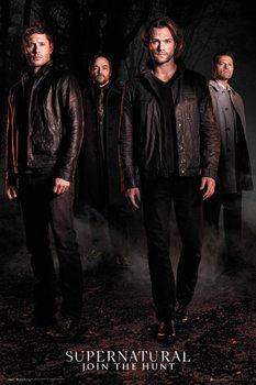 Juliste  Supernatural - Season 12 Key Art
