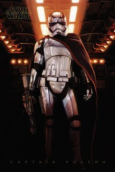 Juliste Tähtien sota: Episodi VII – The Force Awakens - Captain Phasma