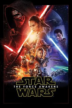 Juliste Tähtien sota: Episodi VII – The Force Awakens - One Sheet