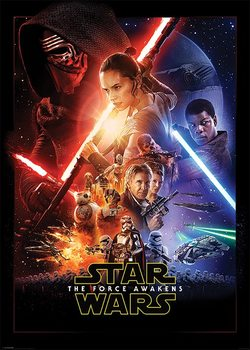Juliste Tähtien sota: Episodi VII - The Force Awakens - One Sheet