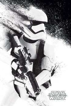 Juliste Tähtien sota: Episodi VII – The Force Awakens - Stormtrooper Paint