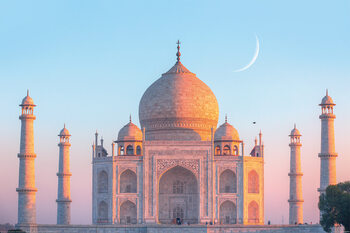 Juliste Taj Mahal - Sunset