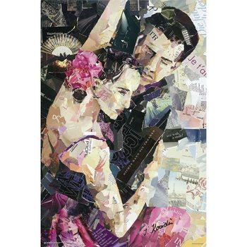Juliste Tango Parisienne - Ines Kouidis