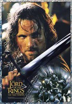Juliste Taru sormusten herrasta: Kaksi tornia - Aragorn