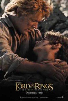 Juliste Taru sormusten herrasta: Kuninkaan paluu - Frodo and Sam