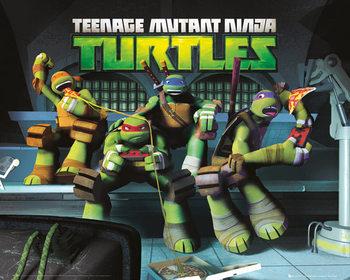 Juliste Teini-ikäiset mutanttininjakilpikonnat - Sewer