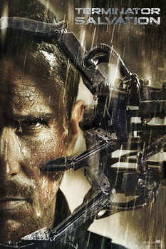 Juliste TERMINATOR SALVATION - Bale Rain