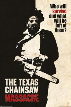 Juliste Texasin moottorisahamurhat - Who Will Survive?
