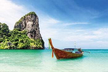 Juliste Thaimaa - Thai Boat