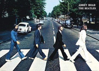 Juliste The Beatles - abbey road