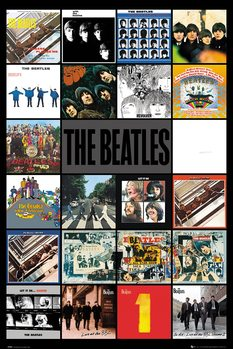 Juliste The Beatles - Albums