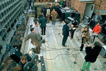 Juliste The Beatles - Rooftop