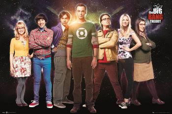 Juliste  The Big Bang Theory - Cast