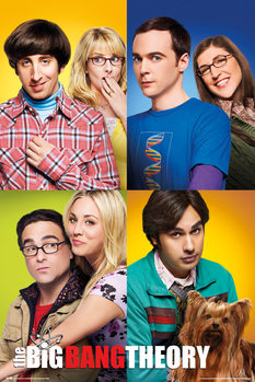Juliste The Big Bang Theory