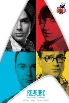 Juliste The Big Bang Theory - Revenge