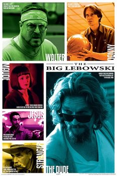 Juliste  The Big Lebowski - Zitate