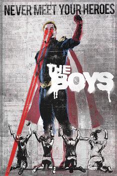Juliste The Boys - Homelander Stencil