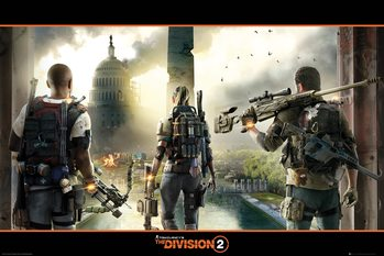 Juliste  The Division 2 - Landscape