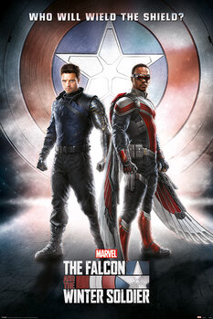 Juliste The Falcon and the Winter Soldier - Wield The Shield