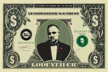 Juliste  THE GODFATHER - dollar
