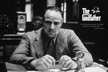 Juliste The Godfather - family