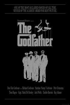 Juliste THE GODFATHER - the corleone family