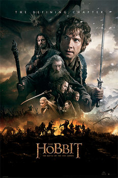 Juliste  The Hobbit BOTFA - One Sheet